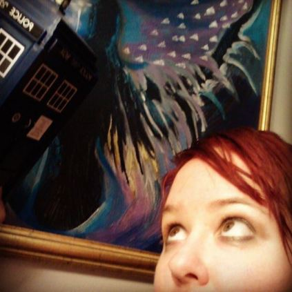 Day 6: Me with the Tardis. #bpsewvember